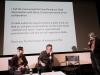 Il messaggio di Gabriel Byrne [foto: Mario Bodo]