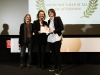 """Louise Bagnall vince il premio per il miglior cortometraggio d'animazione con """"Late Afternoon"""" [foto: Mario Bodo]"""