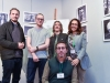 """Con Ed Cleary e Karol Stankiewicz, regista e produttore di """"Lava Lisa"""" [foto: Fabrizio Perilli]"""