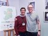 """Con Ed Cleary, regista di """"Lava Lisa"""" [foto: Fabrizio Perilli]"""