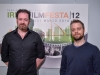 "Short film ""The Observer Effect"": Garret Walsh (director) and Francesco Tresca (composer) [ph: Fabrizio Perilli]"
