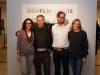 Simona Pellis, Andrea Bergamini (Fandango Editore), Karl Geary, Susanna Pellis [ph: Mario Bodo]