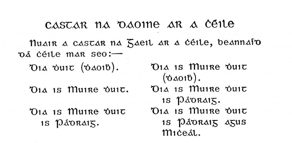 gaelico-saluti