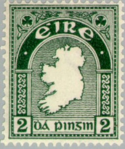 2d_Map_of_Ireland-_first_Irish_postage_stamp