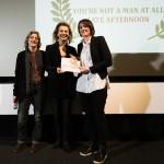 """Louise Bagnall vince il premio per il miglior cortometraggio d'animazione con """"Late Afternoon"""""""