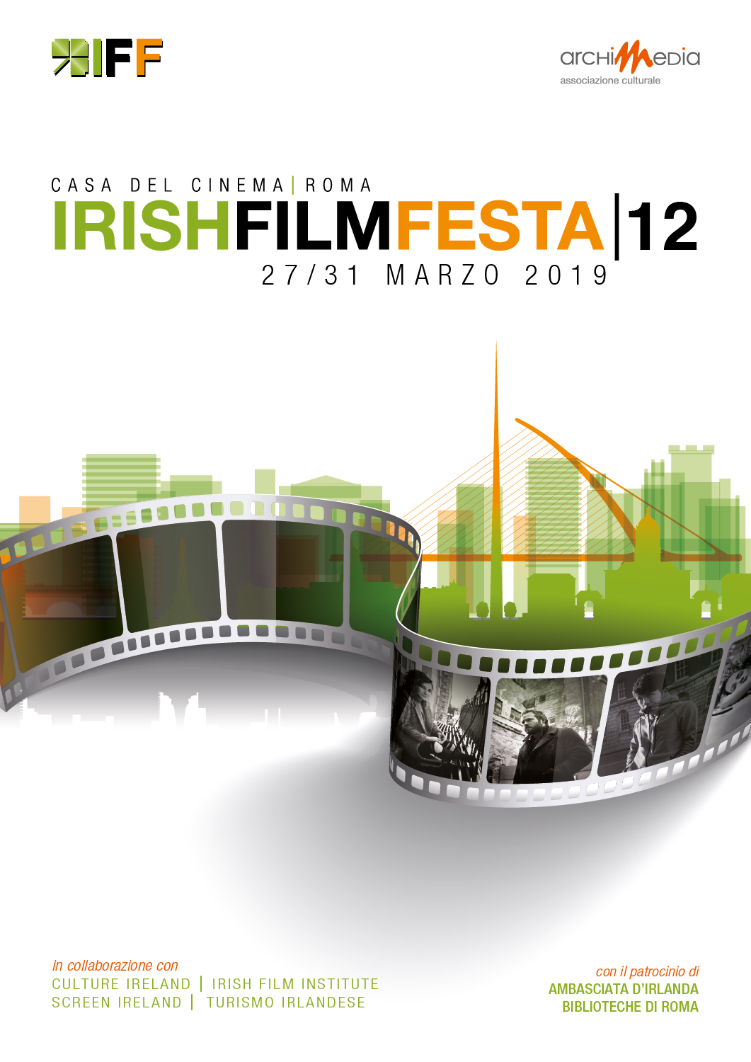 Irish Film Festa 2019 Poster