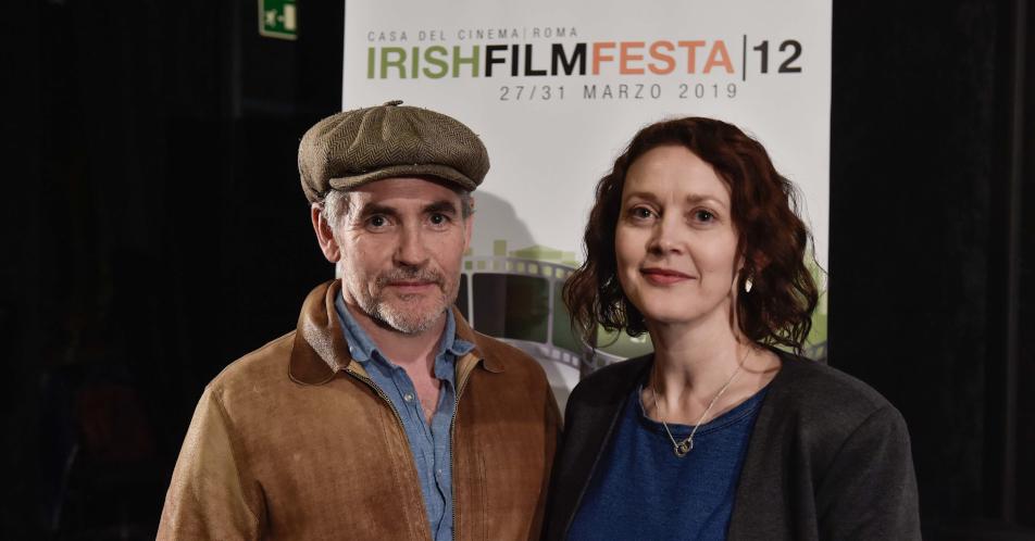 Simone Kirby, Fergal McElherron - Irish Film Festa 2019