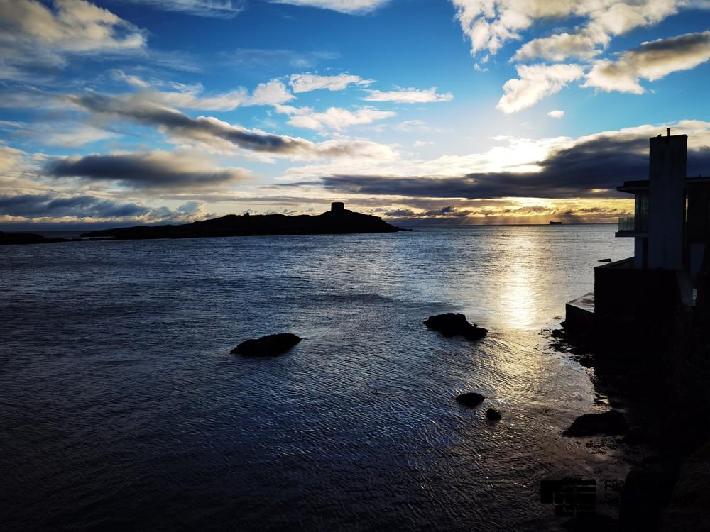 Dalkey Island al tramonto