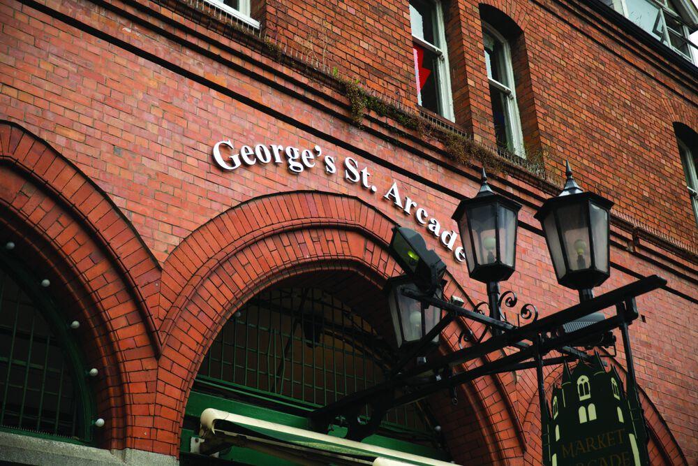L'ingresso di George's St. Arcade
